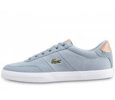 Chaussures Lacoste Court Master grise