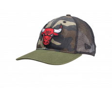 Accessoires New Era Casquette 9/50 Trucker Chicago bulls washed camo