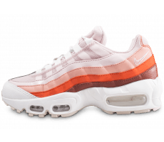 Chaussures Nike Air Max 95 rose et orange