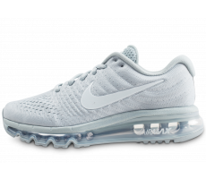 Chaussures Nike Air Max 2017 SE grise et blanche