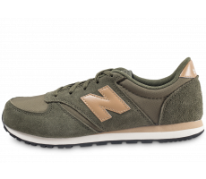 Chaussures New Balance KL420ATY kaki et or junior