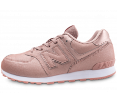 Chaussures New Balance GC574 rose junior