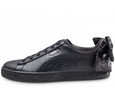 Chaussures Puma Suede Bow Animal noire femme