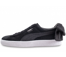 Chaussures Puma Suede Bow Uprising noir