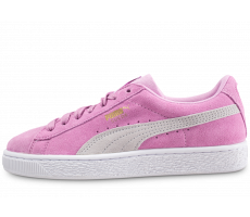 Chaussures Puma Suede Classic rose junior