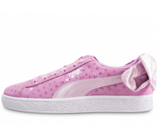 Chaussures Puma Suede Bow Dots rose