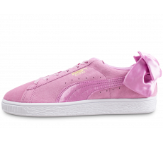 Chaussures Puma Suede Bow violet junior