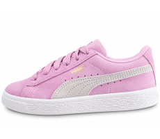Chaussures Puma Suede Classic rose enfant
