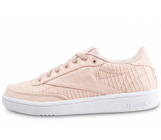 Chaussures Reebok Club C 85 rose femme