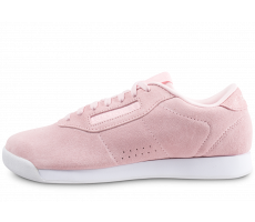 Chaussures Reebok Princess Leather rose femme