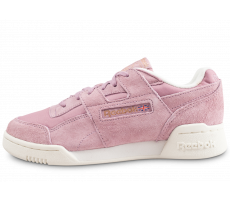 Chaussures Reebok Workout Lo Plus lila femme