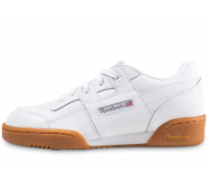 Chaussures Reebok Workout Plus blanche junior