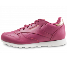 Chaussures Reebok Classic Leather rouge junior