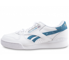 Chaussures Reebok Phase 1 Pro X Montana Cans blanche et bleue junior