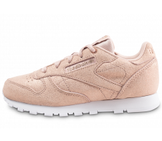 Chaussures Reebok Classic Leather rose gold enfant