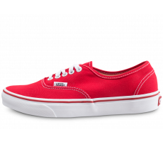 Chaussures Vans Authentic rouge