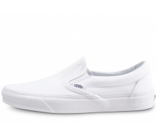 Chaussures Vans Classic Slip-On blanche