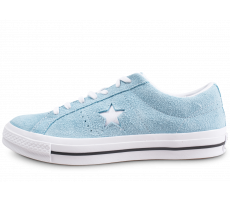 Chaussures Converse One Star Vintage OX Suede bleu
