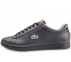 Chaussures Lacoste Carnaby Evo noir
