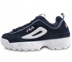 Chaussures Fila Disruptor Suede bleue
