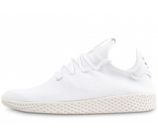 Chaussures adidas Pharrell Williams Tennis Hu triple blanc