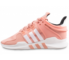 Chaussures adidas EQT Support ADV rose et blanche