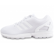 Chaussures adidas ZX flux blanche