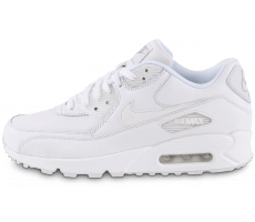 Chaussures Nike Air Max 90 Leather Blanche