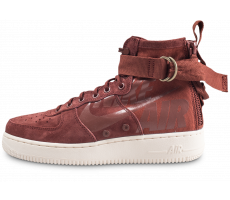 Chaussures Nike SF Air Force 1 Mid marron
