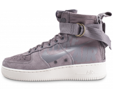 Chaussures Nike SF Air Force 1 Mid grise