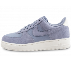 Chaussures Nike Air Force 1 '07 Suede bleue