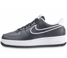 Chaussures Nike Nike Air Force 1 '07 Leather noir et blanc