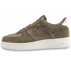 Chaussures Nike Air Force 1 '07 Suede kaki