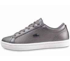 Chaussures Lacoste Straightset grise femme