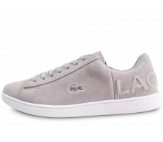 Chaussures Lacoste Carnaby Evo grise femme