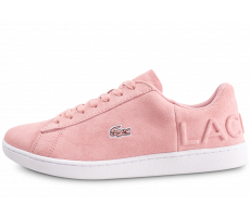 Chaussures Lacoste Carnaby Evo rose femme