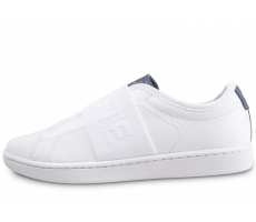 Chaussures Lacoste Carnaby Evo Slip blanche femme