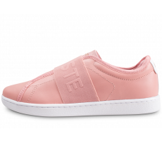 Chaussures Lacoste Carnaby Evo Slip rose