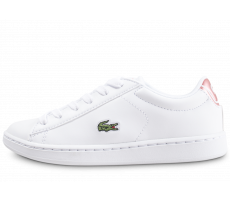 Chaussures Lacoste Carnaby Evo blanche enfant