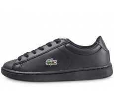 Chaussures Lacoste Carnaby Evo noire enfant