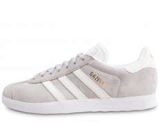 Chaussures adidas Gazelle grise femme