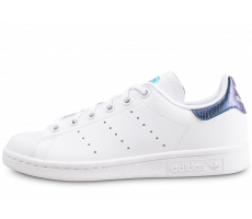 Chaussures adidas Stan Smith junior snake bleu