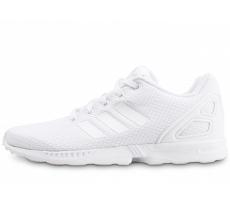 Chaussures adidas ZX Flux blanche enfant