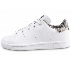 Chaussures adidas Stan Smith graphique blanche enfant