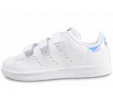 Chaussures adidas Stan Smith irisée scratch enfant