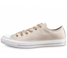 Chaussures Converse Chuck Taylor All Star Low beige femme