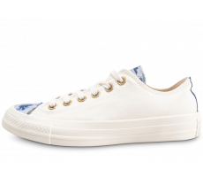 2a9cd1e9514095 Chaussures Converse Chuck Taylor All Star Low Parkway Floral blanche femme