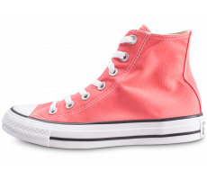 Chaussures Converse Chuck Taylor All Star High orange femme