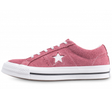 converse femme basse rouge