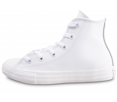 Chaussures Converse Chuck Taylor All Star Locker Luster Hi blanche enfant